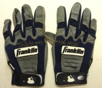 Miguel Sano Signed 2013 Minor League Game Used Batting Gloves – Blue/Gray