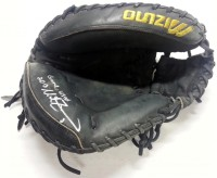 Mike Zunino Signed Game Used Catchers Mitt