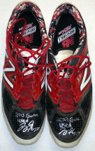 Joey Gallo Game Used New Balance Cleats
