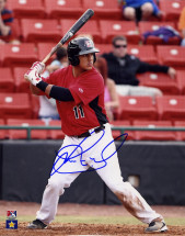 Jorge Alfaro Signed 8×10 – Batting
