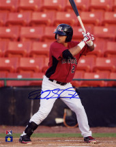 Rougned Odor Signed 8×10 – Batting
