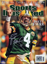 Brett Favre Signed Sports Illustrated Magazine