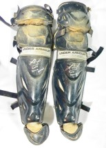 Jorge Alfaro Game Used Shin Guards