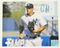 Aaron Judge Signed 8×10 Photo w/ JSA