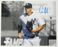 Aaron Judge Signed 8×10 Spotlight Photo w/ JSA